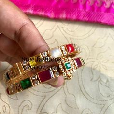 Traditional Gold-plated Bangles & Where To Shop Them Gold Bangles Design, Gold Jewellery Design, Boho Jewellery, India Jewelry, Gold Plated Bangles, Gold Jewelry Simple, Schmuck Design, Sterling Silver Bracelets, Silver Ring
