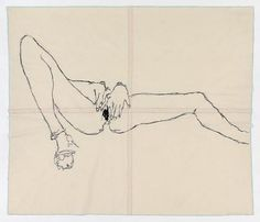 .Tracey Emin. I had medical reason to look in mirror like this and they watch this too.