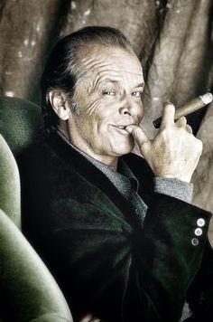 Jack Nicholson, love this crazed man