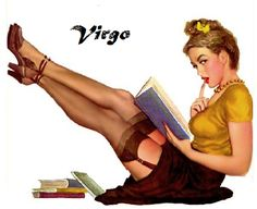 Virgo pin up