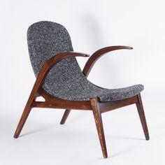 Anonymous; Czech Lounge Chair, 1980s.