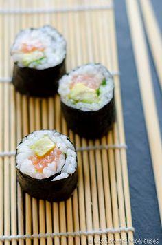 maki saumon avocat coriandre