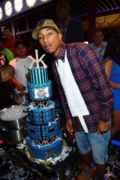 At the new MGM nightclub Hakkasan on Saturday, Pharrell Williams. Photo courtesy Denise Truscello/WireImage  http://www.reviewjournal.com/entertainment/night-clubs/neon-nights-vegas-club-pics-may-3