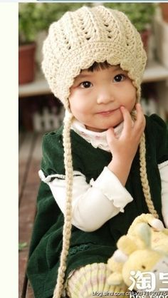 Child's hat crochet chart free diagram pattern