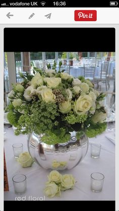 Mix of tall & low displays for tables