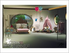 Sims 4 CC's - The Best: Lilipinso Kids Bedroom Set (new meshes) by Daer0n