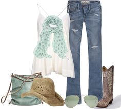 """western style"" by norynieves on Polyvore"