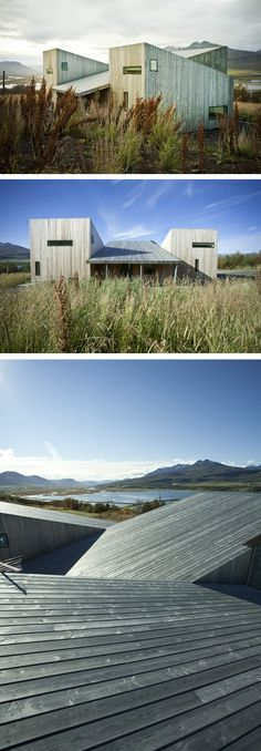 Villa Lola by ARKIS Architects. Sostainable house made out of wood and concrete. 128m2 inspired by the Swiss mountain refuges.