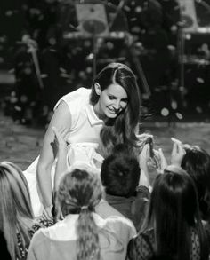 Lana Del Rey blessing the children with her presence