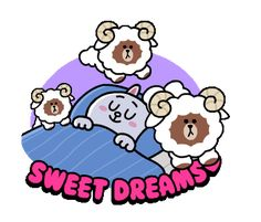 LINE Official Stickers - Brown & Cony Heart Melting Romance Example with GIF Animation Cute Love Pictures, Cute Love Gif, Cute Cat Gif, Cute Couple Cartoon, Cute Love Cartoons, Little Twin Stars, Cute Bear Drawings, Bear Gif, Gato Anime