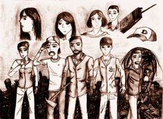 The Walking Dead - Around every Corner *Spoiler* by Livvy-san.deviantart.com