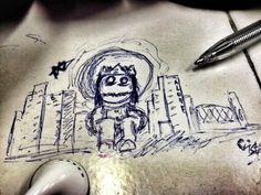 Alone city