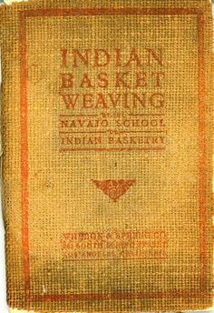 Indian Basket Weaving,Navaho