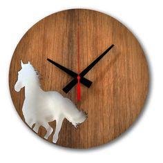 Horse Wall Clock 25cm