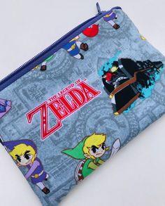 The Legend of Zelda Zipper Pouch: Videogames, Geekery.