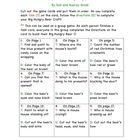 This is an adorable game that goes with the story Merry Christmas Big Hungry Bear by Don and Audrey Wood. With each correct answer, the children co...