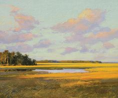"""Afternoon Light"" by Michael B. Karas."