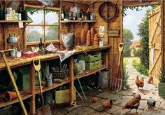 Image result for garden shed full
