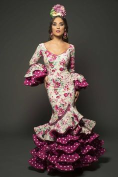 15 Dresses, Cute Dresses, Beautiful Dresses, Formal Dresses, Flamenco Costume, Flamenco Dresses, Spanish Dress, Flamingo Dress, Dance Fashion