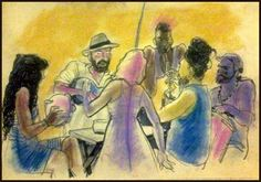Quinta Justa na Casa da Cultura Paraty Cultural  Zum zum zum é um trio de samba formado pelos musicos Juliana Dourado Felipe Rás e Pedro Alfazema. Apresentarão nessa Quinta Justa especial o samba de roda, trazendo um cadinho dos afoxés, sambas de terreiro e do arcaico samba de roda da Bahia, contando com músicos convidados.  A programação da Paraty Cultural acontece todas as quintas-feiras, a partir das 20h.  #CasaDaCultura #CasaDaCulturaParaty #exposição #fotografia #música #cultura…