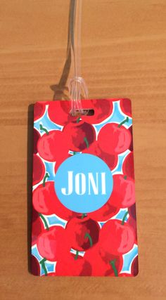 Monogrammed Bag Tag - Personalized Luggage Bag Tag - Suitcase Tag - Backpack Tag - Bag Tag by MJMonograms on Etsy