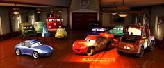 Disney and Pixar's animated classic CARS has been released on Blu-ray and Ultra HD. Disney Pixar Cars, Film Cars, Bonnie Hunt, Cars 2006, Tony Shalhoub, The Cable Guy, Radiator Springs, Owen Wilson, Cars