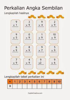 belajar anak perkalian angka 9