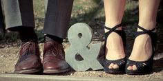 cute photo - could be a unique wedding invitation