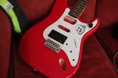 squier emg 81 mock up. Fender Squier, Music Instruments, Guitar, Musical Instruments, Guitars