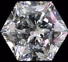 Diamant amb forma d'hexàgon.