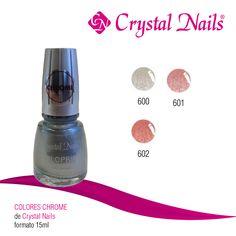 #Colores #Chrome de #CrystalNails