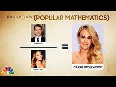 The Tonight Show Starring Jimmy Fallon: Popular Mathematics: Daria, One Direction, Chester Cheetah