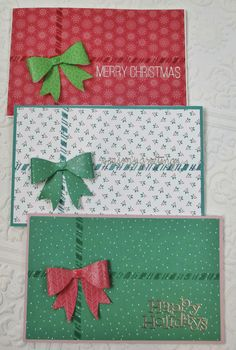 Simple Gift Card/Money Holder Cards by Heather Ruwe using the November 2014 card. - Simple Gift Card/Money Holder Cards by Heather Ruwe using the November 2014 card kit by Simon Says - Christmas Gift Card Holders, Christmas Cards To Make, Christmas Greeting Cards, Holiday Cards, Gift Cards Money, Free Gift Cards, Gift Card Giveaway, Card Kit, Homemade Cards