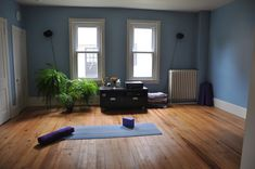 With Hardwood Flooring And A Minimalist Design, You Can Bring The Serenity  Of The Yoga Studio Into Your Home.