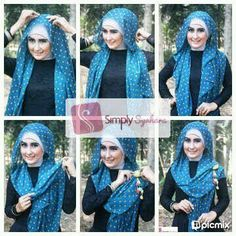 Hijab tutorial ~ Scarf/ pashmina