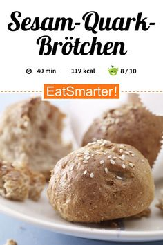Eat Smarter, Weight Gain, Bread, Baking, Healthy, Food, Low Calorie Bread, Best Healthy Recipes, Brot