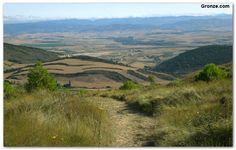 Vista desde el Alto de Aibar