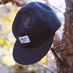 Branch out with the speckled cotton Bercon Throwback Hat // #OBEY #OBEYWomens