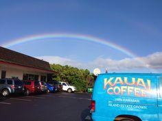 As good as it gets...taken in Kalaheo, Kauai...just up the road from the Kauai Coffee fields.