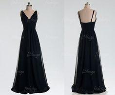 Hey, I found this really awesome Etsy listing at https://www.etsy.com/listing/162116267/black-bridesmaid-dress-long-bridesmaid