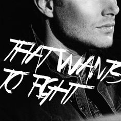 You're the part of me that wants to fight. <3 #Supernatural #S9 - I can't say enough about how perfect it was that Dean represented the part of Sam that wanted to fight. Not only because they are so close, but because that is exactly how Sam sees Dean. The one that will always fight back, that will see everything through to the end, that can take care of his brother and find a way out. It killed me. <3