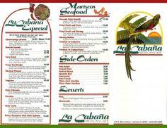 La Cabana Restaurant Menu Aurora Il
