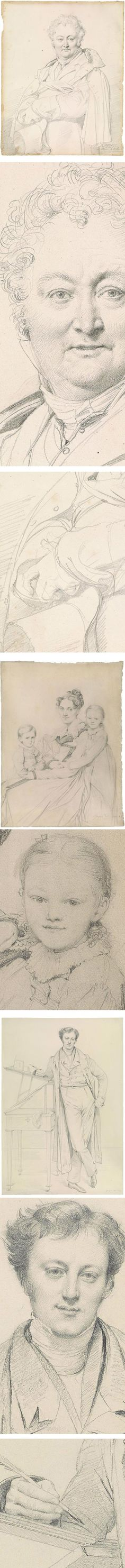 Ingres at the Morgan, graphite drawings of Jean-Auguste-Dominique Ingres