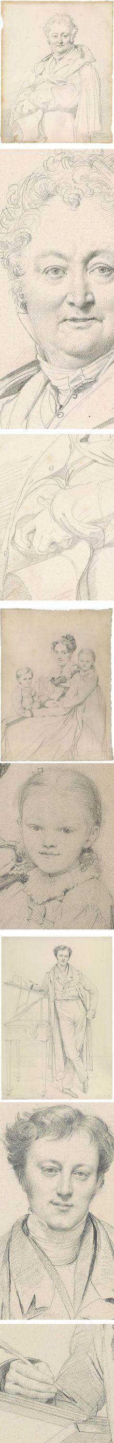 Ingres at the Morgan, graphite drwaings of ean-Auguste-Dominique Ingres