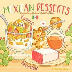 Cute Kawaii Animals, Cute Animal Drawings Kawaii, Kawaii Art, Food Wallpaper, Kawaii Wallpaper, Cute Food Art, Cute Art, Food Sketch, Cute Food Drawings
