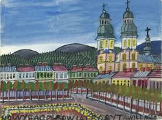 Nikifor Grandma Moses, Henri Rousseau, Naive Art, Poland, Taj Mahal, Paintings, Design, Drawings, Primitive