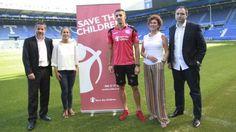 Save The Children patrocinará durante 4 partidos la camiseta del Alavés