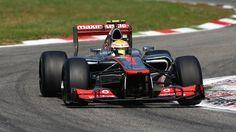 Lewis Hamilton took a dominant victory in the Italian Grand Prix to beat Sauber's Sergio Perez and Ferrari's Fernando Alonso.