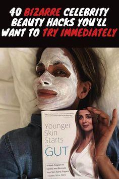 #Bizarre #Celebrity #Beauty #Hacks You'll Want To Try #Immediately Celebrity Beauty, Hollywood Stars, Beauty Hacks, Celebrities, Celebs, Beauty Tricks, Beautiful Celebrities, Celebrity, Famous People