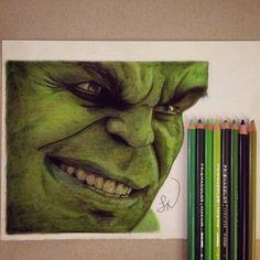Avengers Drawings, Avengers Art, Marvel Art, Art Drawings Sketches Simple, Realistic Drawings, Hulk, Indian Art Paintings, Animal Paintings, Pencil Drawings